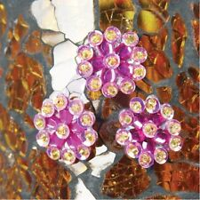 "Prima Marketing -  ""Rubine Flower Centers"" 10 in each Package 536169"