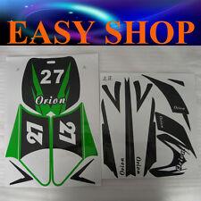 Green Sticker Decal kit 43 47 49cc Dirt Pit Pro Thumpstar Mini Kids Bike Pocket