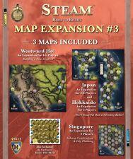Steam Map Expansion #3 Japan Hokkaido Westward Ho Singapore Game Mayfair Games
