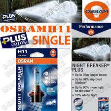 OSRAM H11 NIGHT BREAKER PLUS LAMPADINA H11 12V 55W 711nbp (singolo)