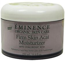 Eminence Firm Skin Acai Moisturizer Hyaluronic 250ml(8.4oz)  prof * Sale