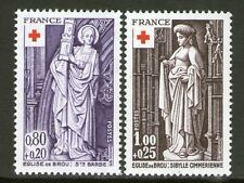 TIMBRES 1910-1911 NEUF XX LUXE  - CROIX ROUGE - SCULPTURES DE L'EGLISE DE BROU