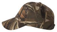 Outdoor Cap Structured Plastic Closure Camouflage Cap 50/50 Baseball Hat. 301IS