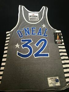 Roots Of Fight Basketball Shaquille O'Neal Shaq Men's Tank Top Size Small-3XL