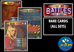 Dr Doctor Who Battles in Time RARE Cards - EXTERMINATOR to DEVASTATOR (ALL SETS)
