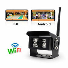 Smartphone WiFi Wireless Rear View Reverse IR HD Camera For Truck Caravan Bus RV