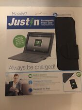 Just In Case Ipad Charger Case Backup Battery Protective Case Xtra Power NEW!!