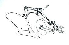 "Brinly Sleeve Hitch 10""  Moldboard Plow Manual Lawn Mower Cub Cadet John Deere"