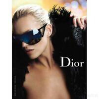 New Dior Escrime 1 Sunglasses Shield Wraparound C. RPUH6 Gold w/ Gradient Lens