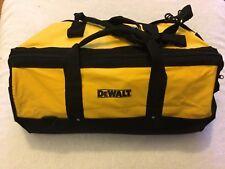 """New Dewalt Tool Bag Heavy Duty Ballistic Nylon 24"""" x 12"""" x 14"""" W/ Shoulder Strap"""