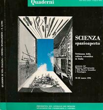 Quaderni di vitaiItaliana n.2 - scienza spazioaperto. Settimana della cultura sc