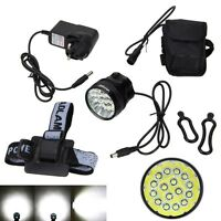 60000Lm 16xXML T6 LED Mountain Bike Bicycle Cycle Light Front Lamp Torch 6x18650