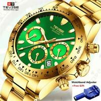 TEVISE Mens Wristwatches Top Brand Luxury Wristwatches Automatic Wristwatch Men