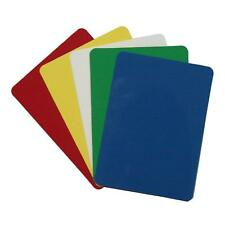 Set of 10 Plastic Poker Size Cut Cards Fits Copag Kem Bicycle Playing Cards