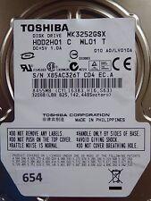 320gb Toshiba mk3252gsx hdd2h01 C wl01 T | lv010a #654