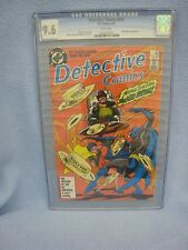 Detective Comics #573 (Apr 1987, DC) CGC 9.6 NEAR MINT Mad Hatter - White Pages