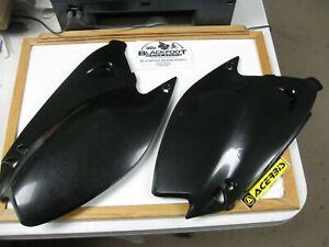 ACERBIS Side Panels Black Kawasaki KX125 2003-2005 KX250 2003-2007