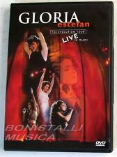 GLORIA ESTEFAN - THE EVOLUTION TOUR LIVE IN MIAMI - DVD Nuovo Unplayed