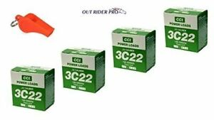 D.T. Systems Blank 4-Pack Powerloads Green with Free Whistle
