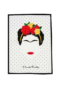 Frida Kahlo Mexican Artist Tea Towel