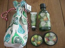 The Body Shop Gift Set Juicy Pear Brand New In Pouch