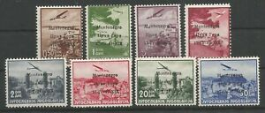 MONTENEGRO, ITALIAN OCCUPATION, AIR ISSUE, LOT MH