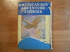 American Boy Adventure Stories, hardback, 1928, Sun Dial Press, Young Moderns