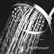 AirJet-400 High Pressure Multi Function Shower Head w/ Velocity Flow Accelerator