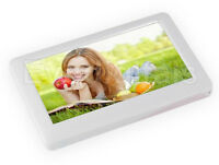 """NEW WHITE EVODIGITALS 16GB 4.3"""" TOUCH SCREEN MP5 MP4 MP3 PLAYER VIDEO + TV OUT"""