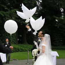 1x Ballon Hélium Pigeon Mariage Décoration Paix Oiseau Flottant Balle Party Fête