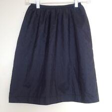 Vintage Vassarette Black Half Slip Skirt Saver Medium