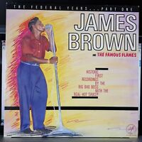 James Brown and The Famous Flames - The Federal Years, Part 1 - 1984 LP record
