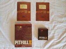 RARE Pitfall 2 II Lost Caverns Atari 2600 game Activision David Crane's Pit Fall