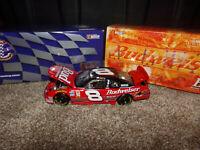1/24 DALE EARNHARDT JR #8 BUDWEISER  1999 ACTION NASCAR DIECAST