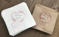 Personalised Wedding Sweet & Favour Bags
