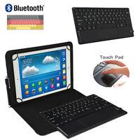 "Tablet Tastatur mappe mit Touchpad Samsung Galaxy Tab A SM-T580 Hülle 10.1"" TP"