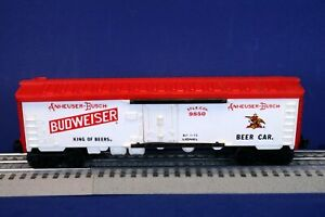 Lionel O Scale Budweiser Beer Advertising Reefer Billboard Boxcar 6-5704