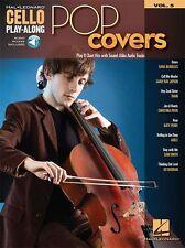 Cello Empaste Pop Cubre aprender a tocar música Gráfico golpeó canciones Libro/en línea de audio