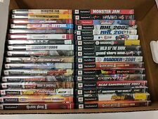 Lot of 34 Playstation 2 PS2 Games - Clean USED - 220