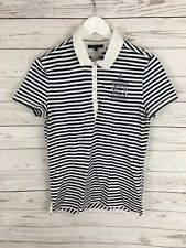 TOMMY HILFIGER Polo Shirt - Large - Striped - Great Condition