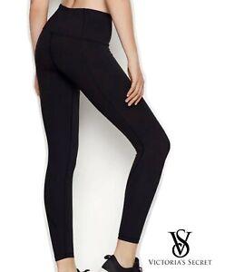 Victoria Secret Black Woman's Super Soft Sport Leggings Brand New