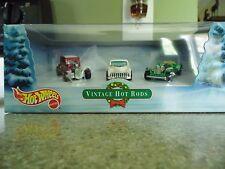 Vintage Hot Rods - HotWheels 2000 3 car collector set (NIB)