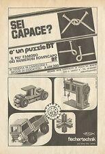 X4644 Rompicapo Biliard Toys - Pubblicità 1975 - Advertising