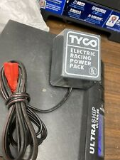 Tyco Electric Racing Slot Car Power Pack (AC Adapters) Working