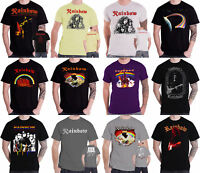 Rainbow T Shirt band logo Rising Down To Earth tour mens new official