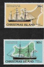 1987 Ship Visits  Set of 2  Complete MUH/MNH as Issued