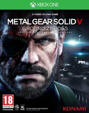 Jeu Xbox One Metal Gear Solid V Ground Zeroes