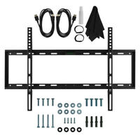 "TV Wall Mount Kit Sizes 32""37""42""50""52""55""60"" with HDMI, Slim Flat Deco Mount"