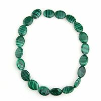 Malachite Gemstone Gem Stone Oval 20x15mm Beads Strand HOT HY