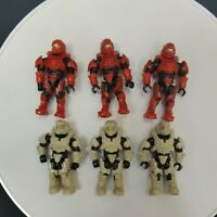 Mega Bloks Construx Halo spartan 6 figures toy